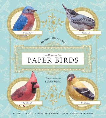 Beautiful Paper Birds By Scherft, Johan